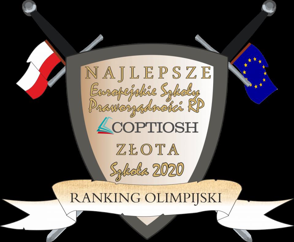 Trzy gliwickie Licea w IX Ogólnopolskim Rankingu Olimpijskim 2020
